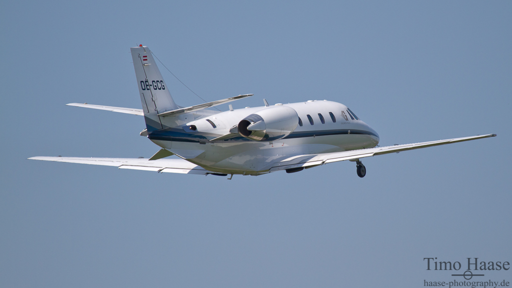 02.05.12 Cessna 560XL Citation Excel ( OE-GCG ) der Goldeck Flug GmbH