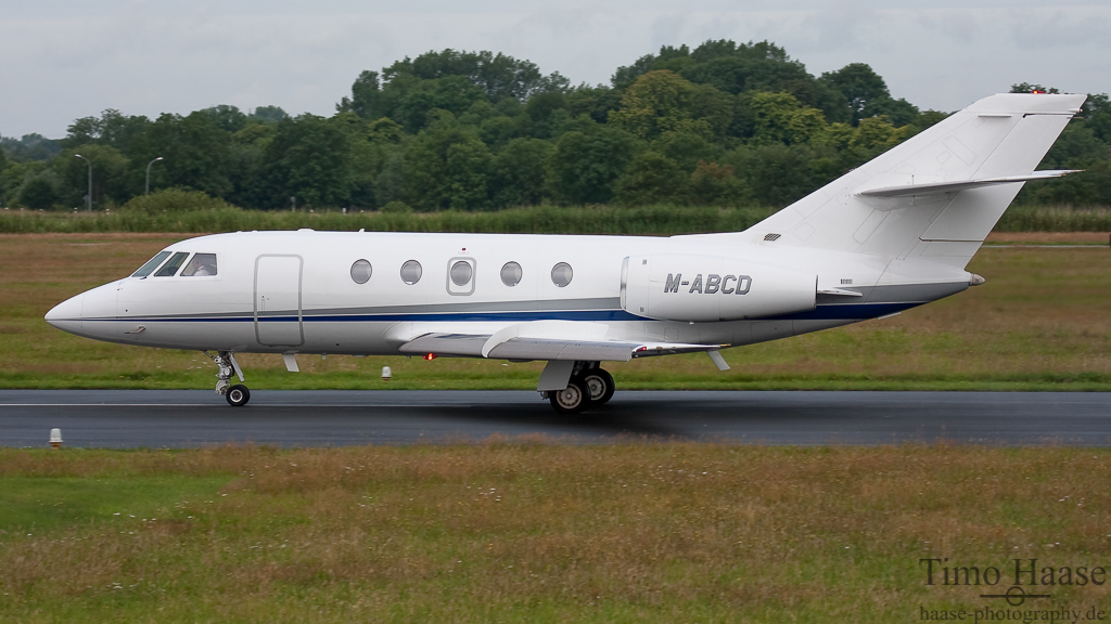 23.07.09 Dassault Falcon 2000 ( M-ABCD ) der ASP Aviation