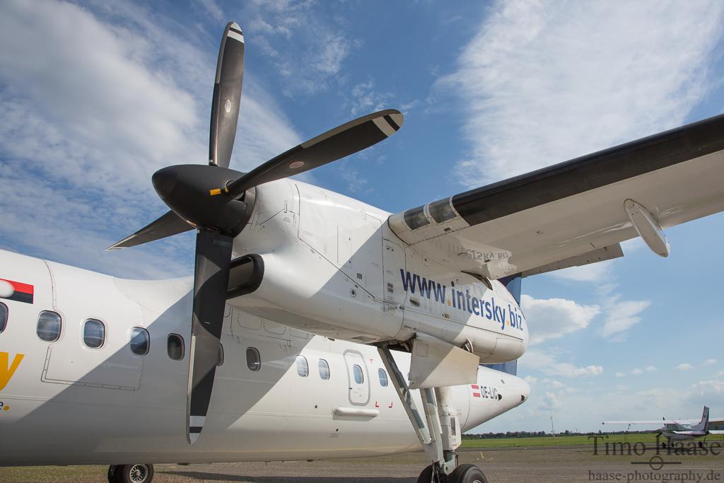 03.08.13 Bombardier Dash 8-Q314 ( OE-LIC ) der InterSky