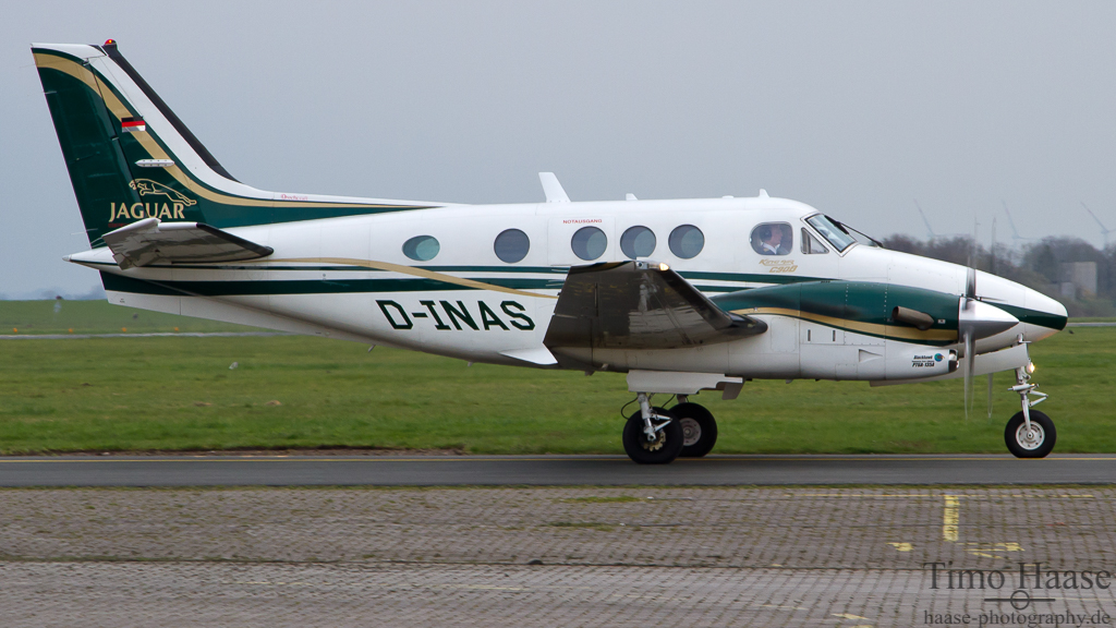 12.04.12 Beech C90B King Air ( D-INAS ) der NAS Nordwest Airservice GmbH