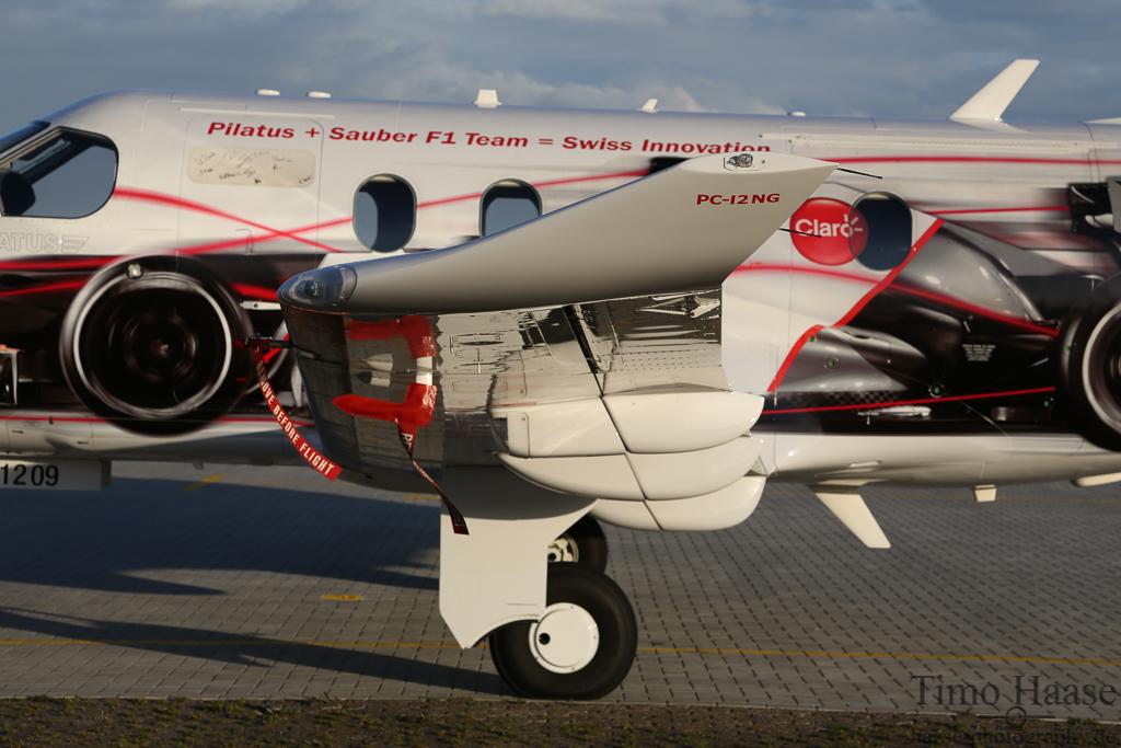 18.09.12 Pilatus PC-12/47E ( HB-FVI ) von Pilatus Aircraft