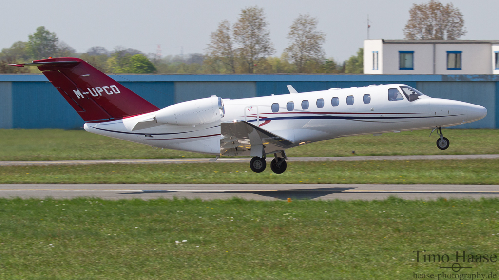 02.05.12 Cessna 525B Citation CJ3 ( M-UPCO ) der Ulla Popken GmbH