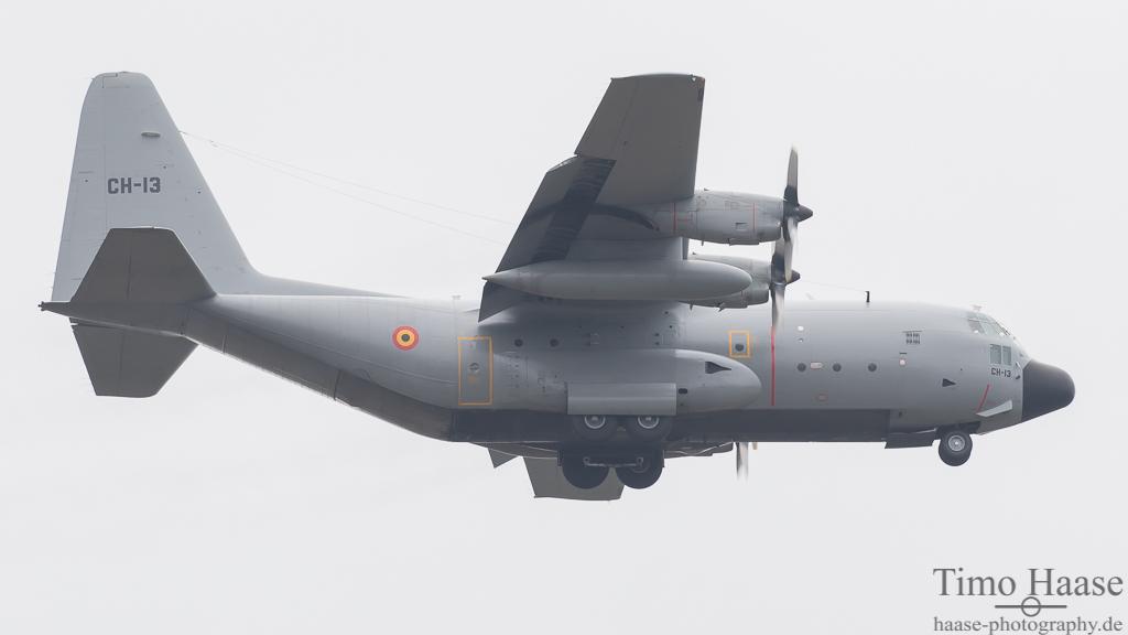 C-130H Hercules Kennung: CH-13 der belgischen Luftwaffe