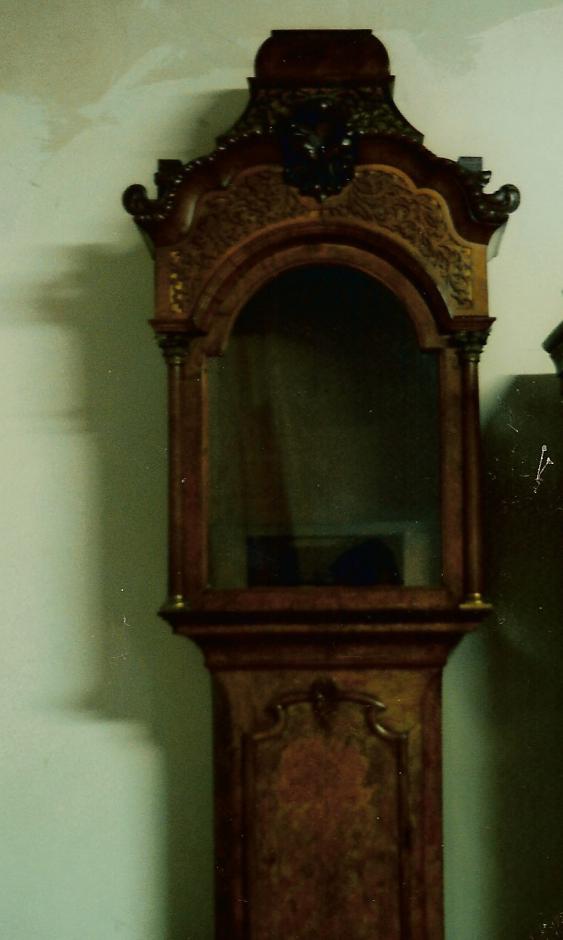 17e eeuwse staande klok