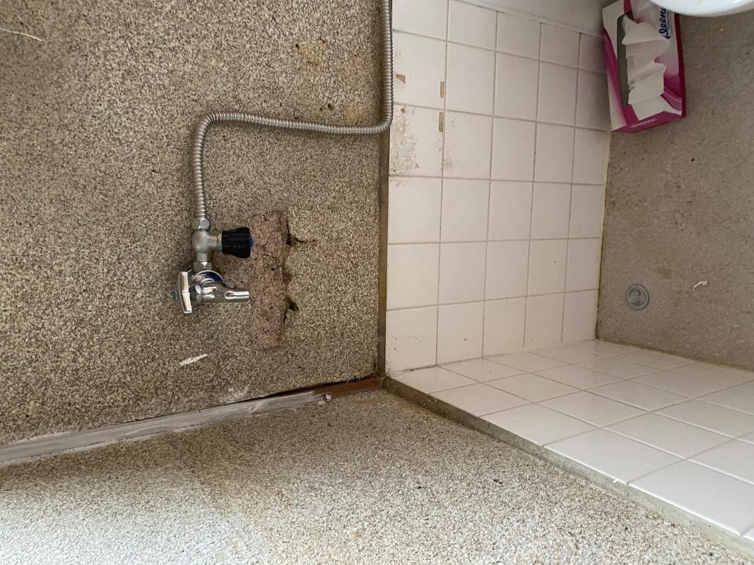 徳島市津田本町 トイレ手洗い撤去
