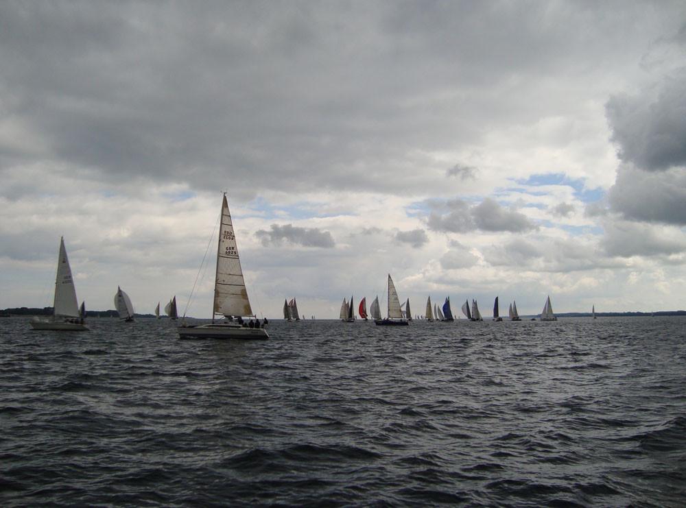 23.6. - Rückregatta - Start vor Eckernförde