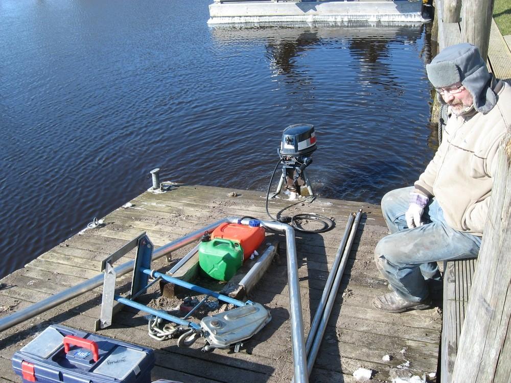 15.03.2013 Vorbereitungen zum Schlengelaufbau Anlage Nord Foto: Lutz Lühmann