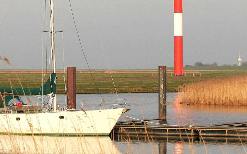 April 2010 Gastboot in Otterndorf Foto: Lutz Lühmann