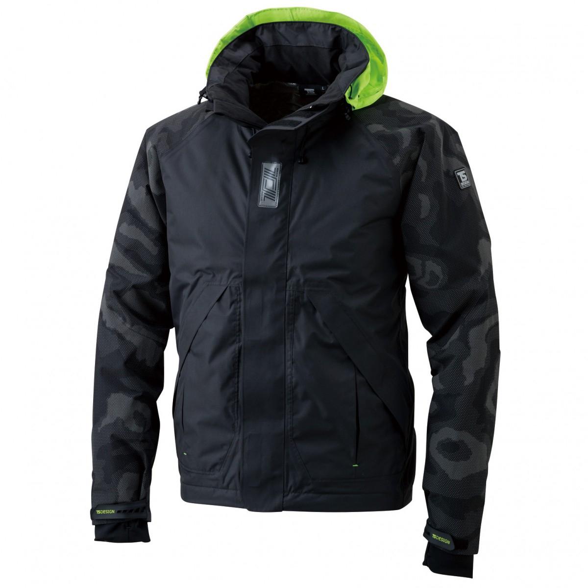 TS DESIGN  18236 メガヒートフラッシュ防水防寒ジャケット 95ブラック
