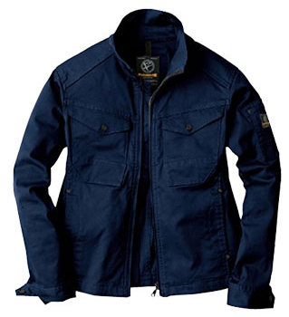 EVEN RIVER~イーブンリバー「4ネイビー」作業服の定番カラー。普通よりシックなネイビーになってます。