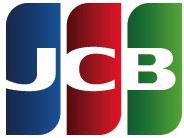 5大ブランドのクレジットカード利用できます。JCB