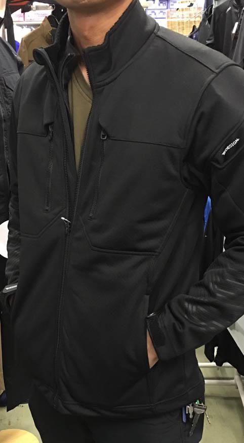 TS DESIGN WORK JACKET 84626 SERIES  防風なのに軽量で着やすいです。