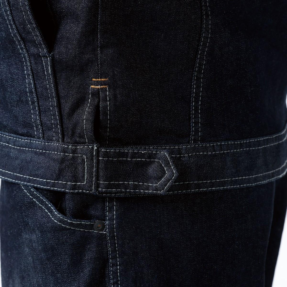 TS DESIGN 5116 ジャケット ¥5,940(税込)ウエストアジャスターで、ジャケットの裾が調節可能です。