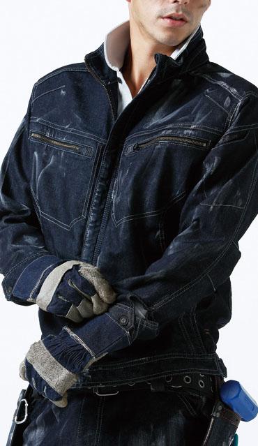 TS DESIGN 511 SERIES ストレッチデニム のびのびストレッチで機動的な作業服です。