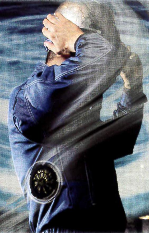 TORNADO RAKAN~トルネードラカン~半袖ブルゾンが激涼なんです!!