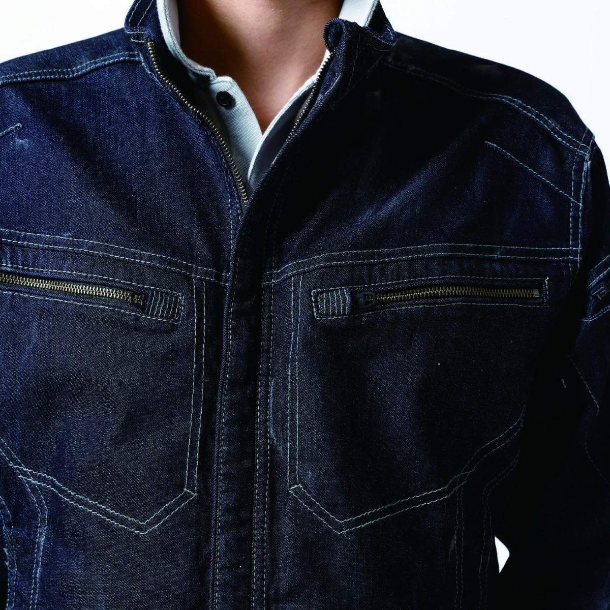 TS DESIGN 5116 ジャケット ¥4,950(税込)大型のファスナー採用。使い易さが違います。