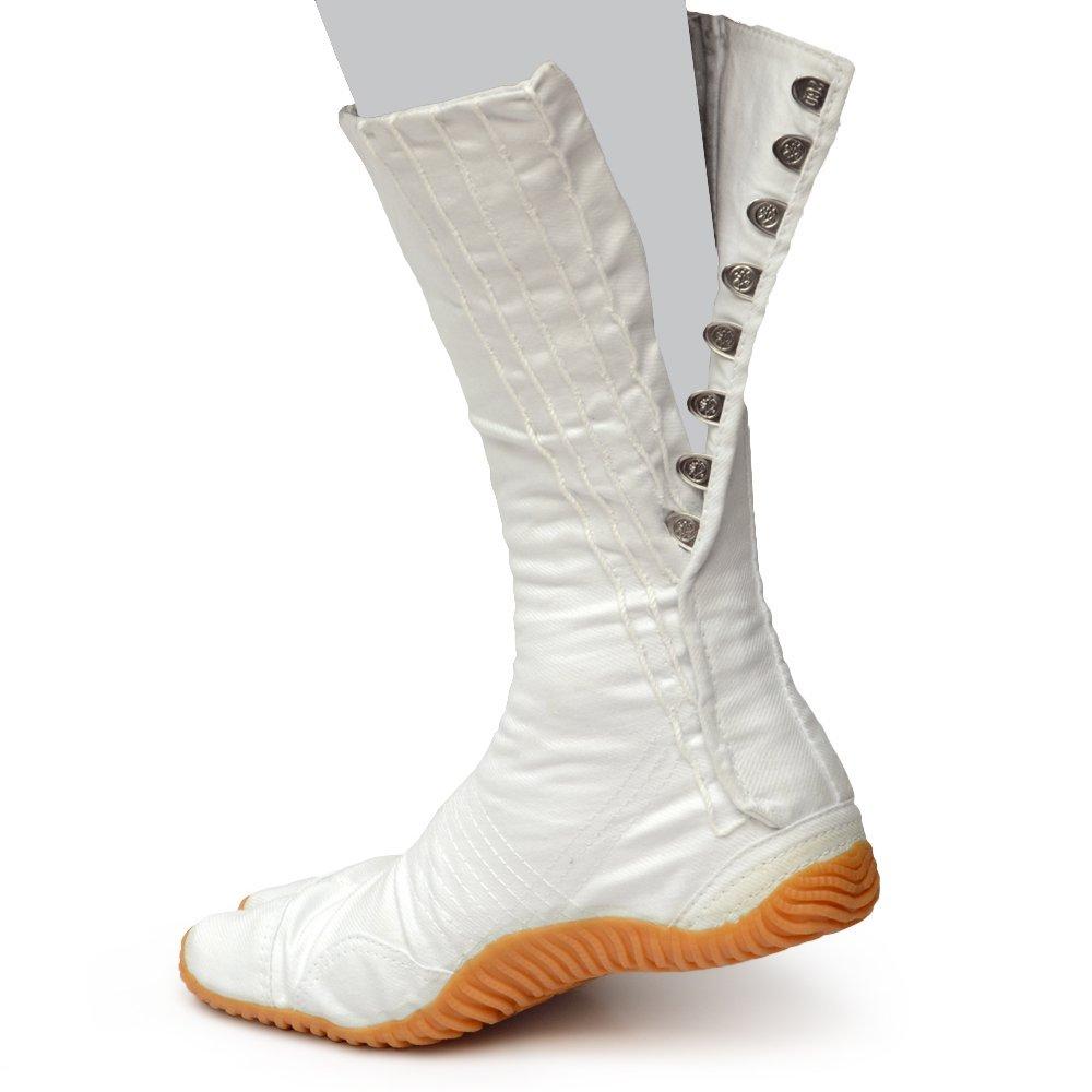 荘快堂 M-8-12 スポーツ祭たび 12枚 白 裾をしっかりホールドするロングタイプ12枚