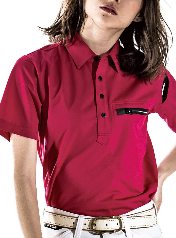 TS DESIGN 81305 ワークニットショートポロシャツ 女性対応サイズ SS・Sサイズもございます。