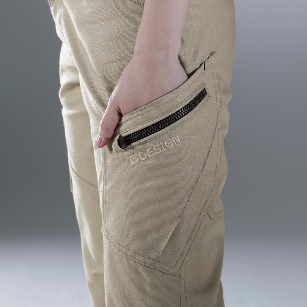 TS DESIGN 3514 カーゴパンツ ¥4,290(税込)クイックポケット。道具の出し入れが便利です。