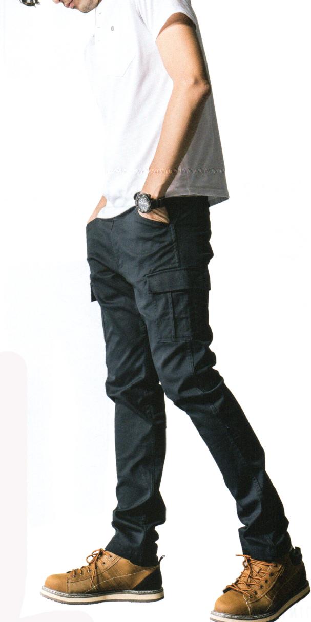 GLADIATOR G-5005  スタイリッシュカーゴ ¥2,990(税込)ラインが綺麗に決まるパンツ!!