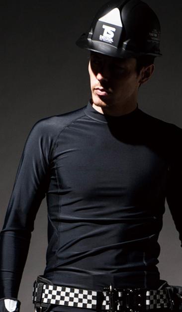 夏はこれ1枚でほんまに涼しいインナーシャツ TS MUSCLE SUPPORT 84151