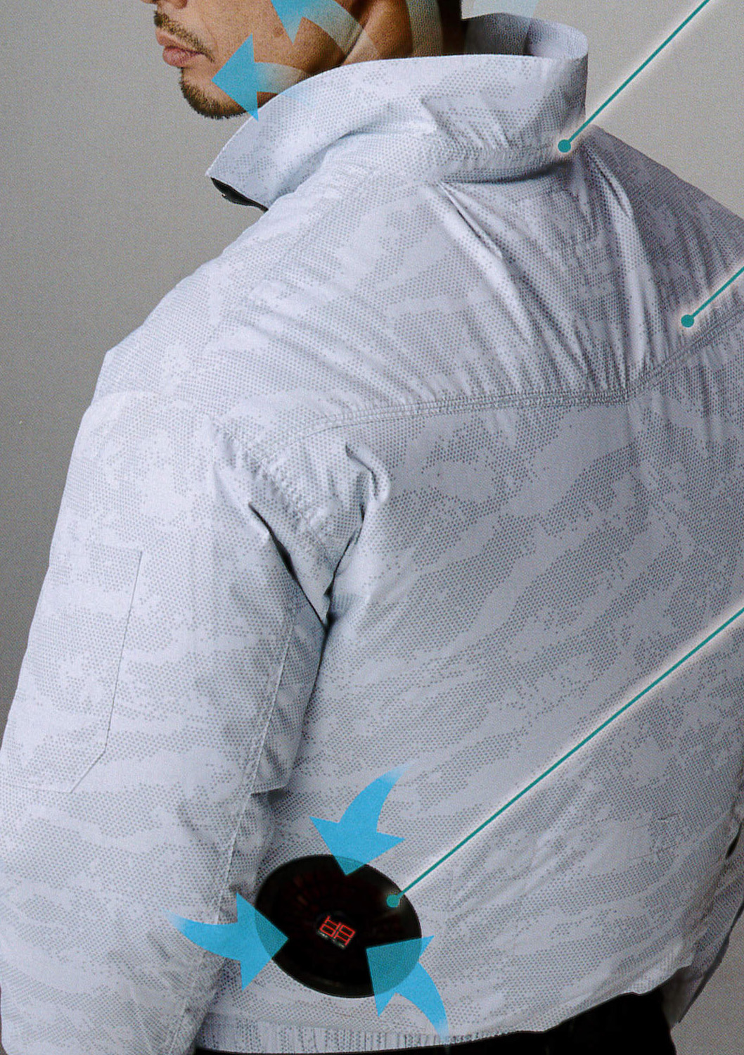 HOOH(鳳皇)の裏チタン空調服~快適ウェア~¥3,990(税込)