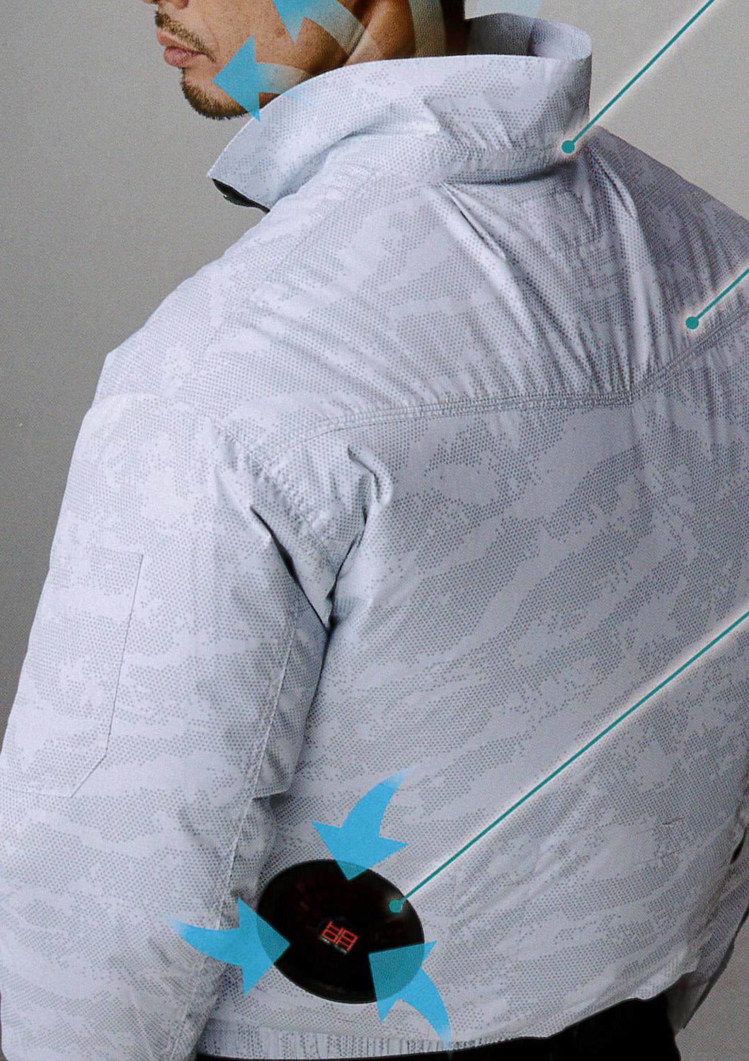 HOOH(鳳皇)の裏チタン空調服~快適ウェア~¥4,290(税込)