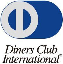 5大ブランドのクレジットカード利用できます。DINERS CLUB