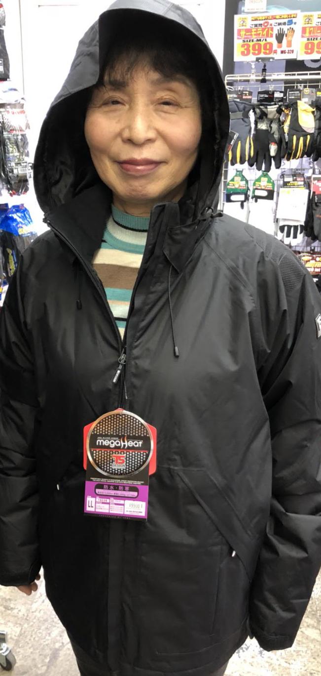 TS DESIGN(TSデザイン)18226 メガヒート防水防寒ジャケット カラー:黒・赤・チャコール