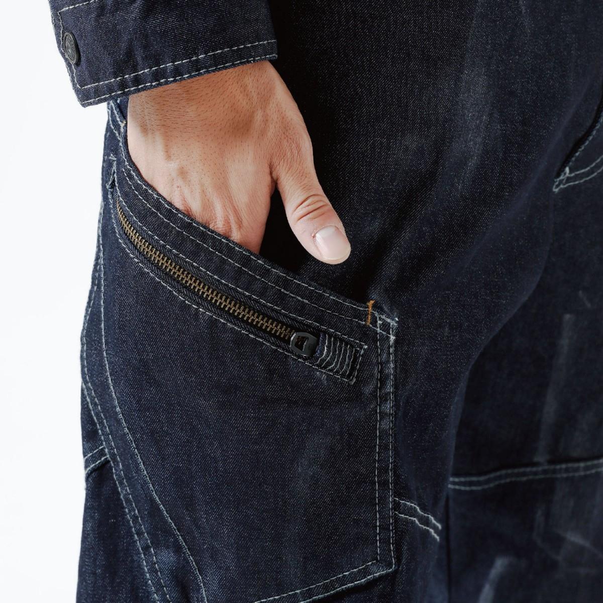 TS DESIGN 5114 カーゴパンツ ¥3,990(税込)クイックポケット。道具の出し入れが便利です。