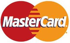 5大ブランドのクレジットカード利用できます。MASTER CARD