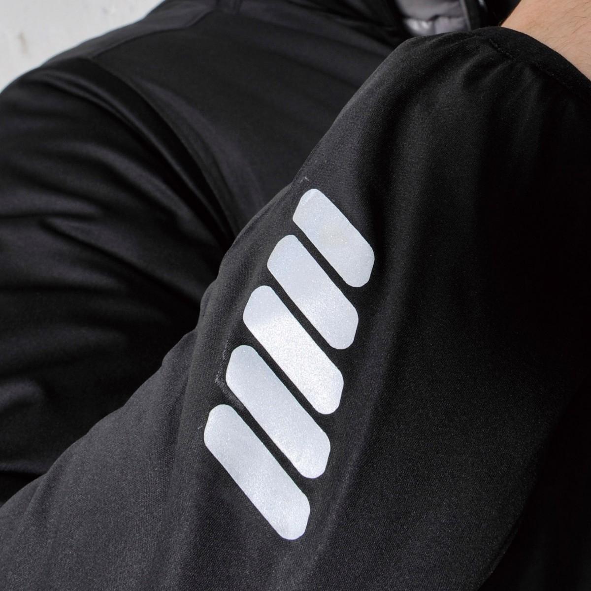TS DESIGN  6626 防風ストレッチライトウォームジャケット 袖に反射テープを採用。視認性が高い商品です。