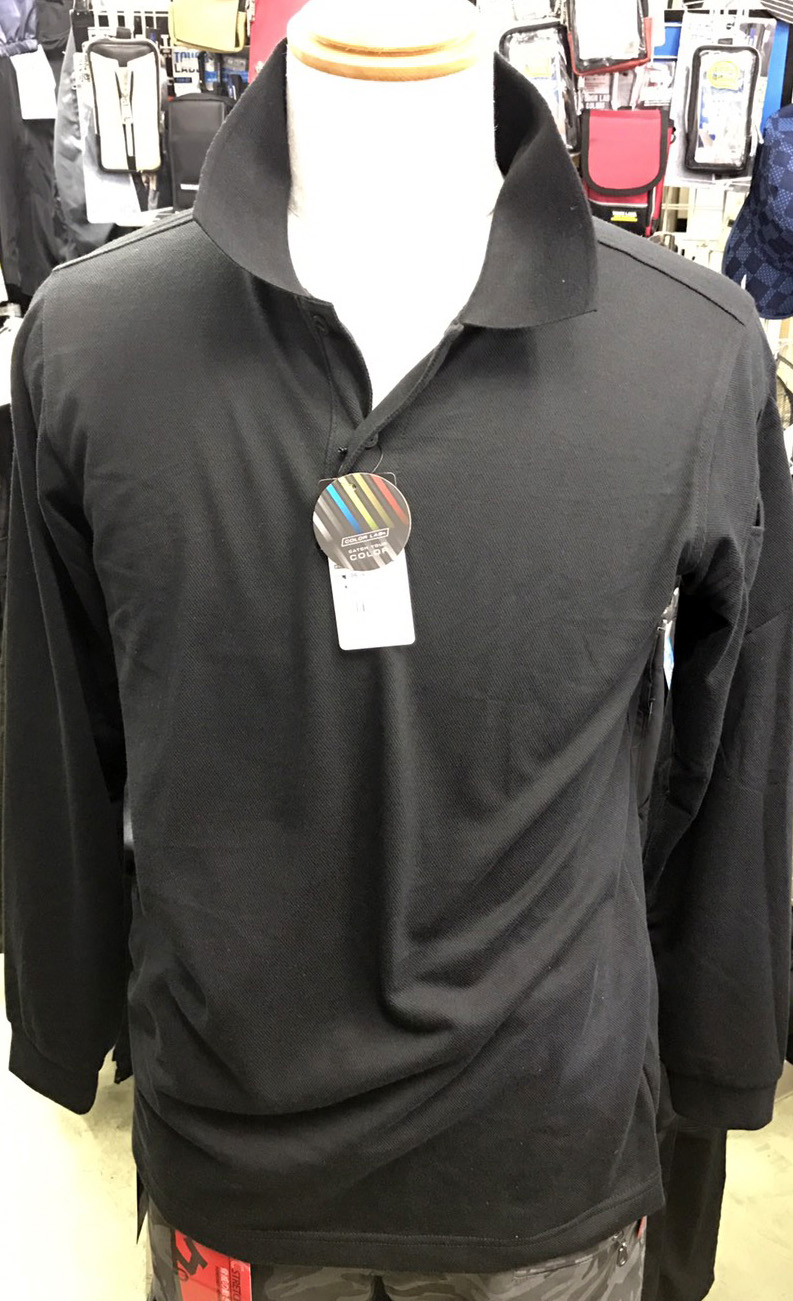 TS DESIGN~TSデザイン~4075 ロングスリーブポロシャツ ¥1,990(税込)