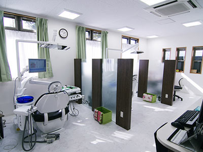 Inside of Forest Dental Clinic