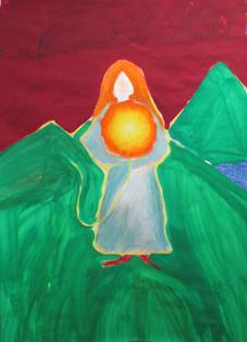 Kunstthearpie, Maltherapie bei Lebenskrisen, Trauma, Hochsensibilität - in Luzern
