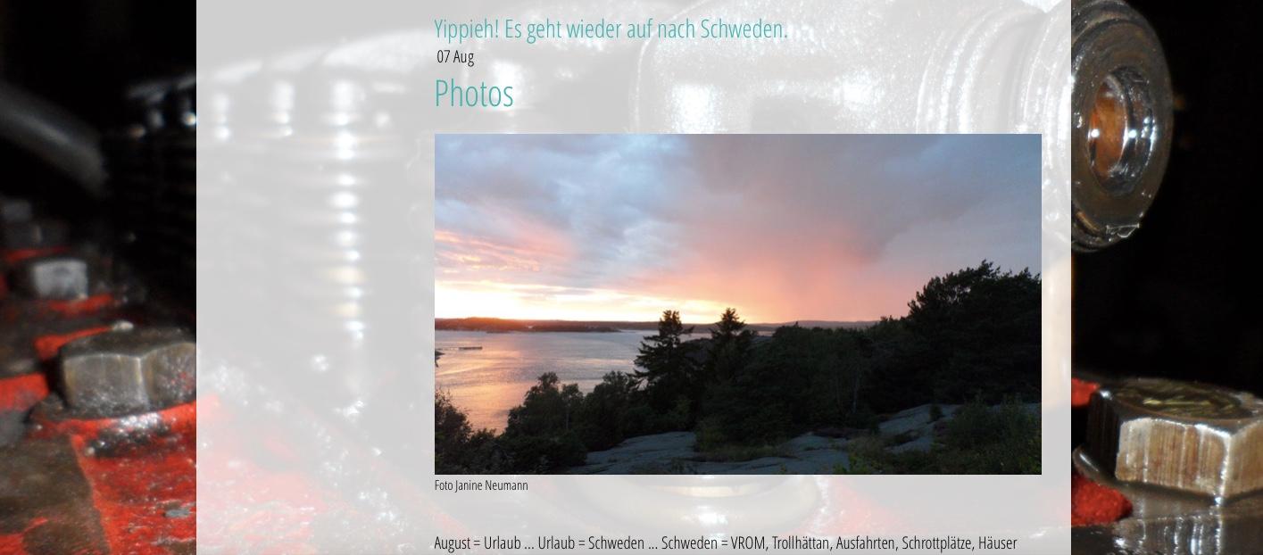 Foto Janine Neumann - Einige Impressionen der neuen Club Webseite