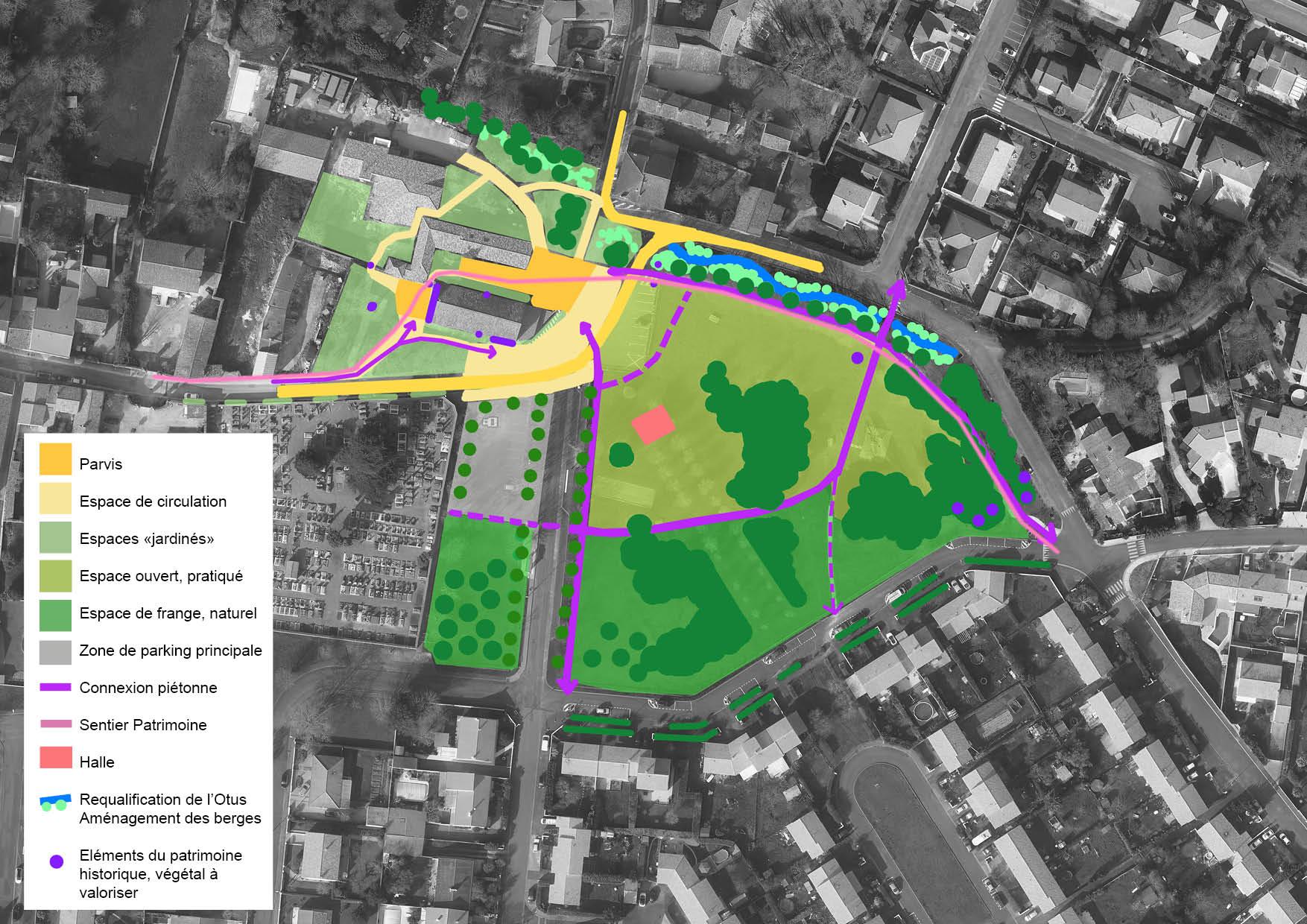 Réaménagement du centre bourg de la Jarne avec Sitea Conseil