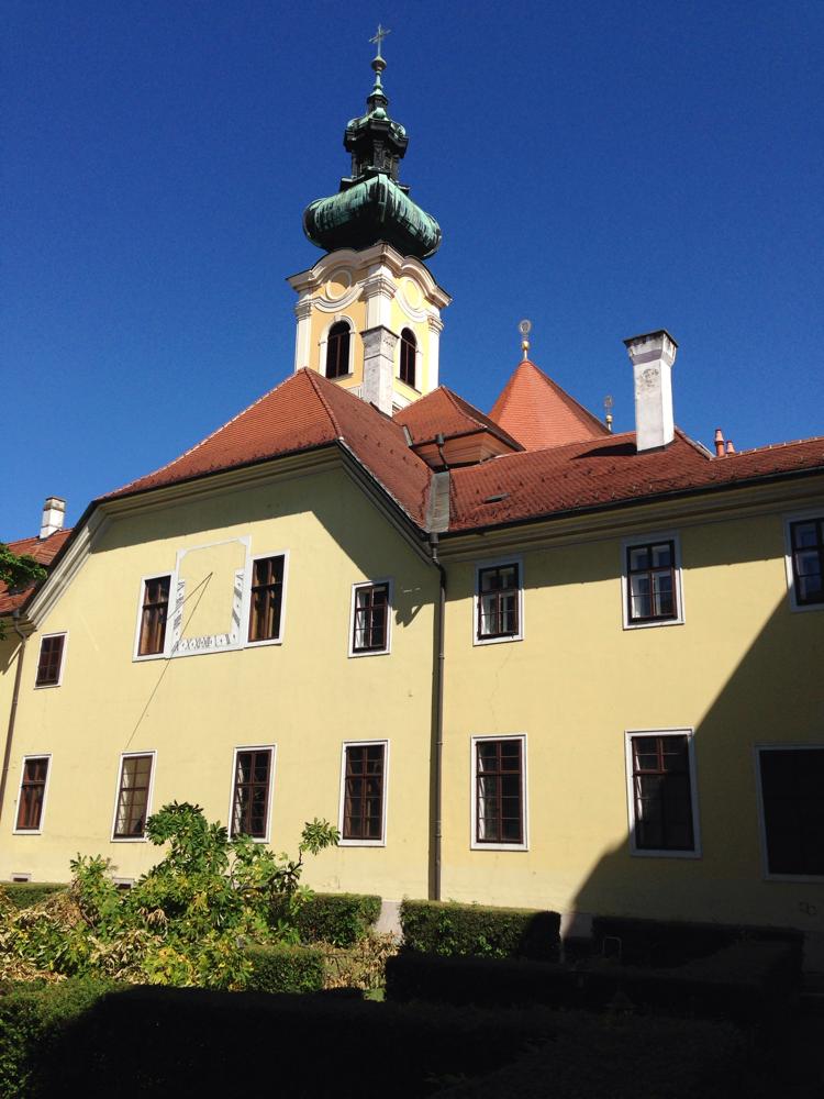Der Innenhof unseres (Kloster-)Hotels