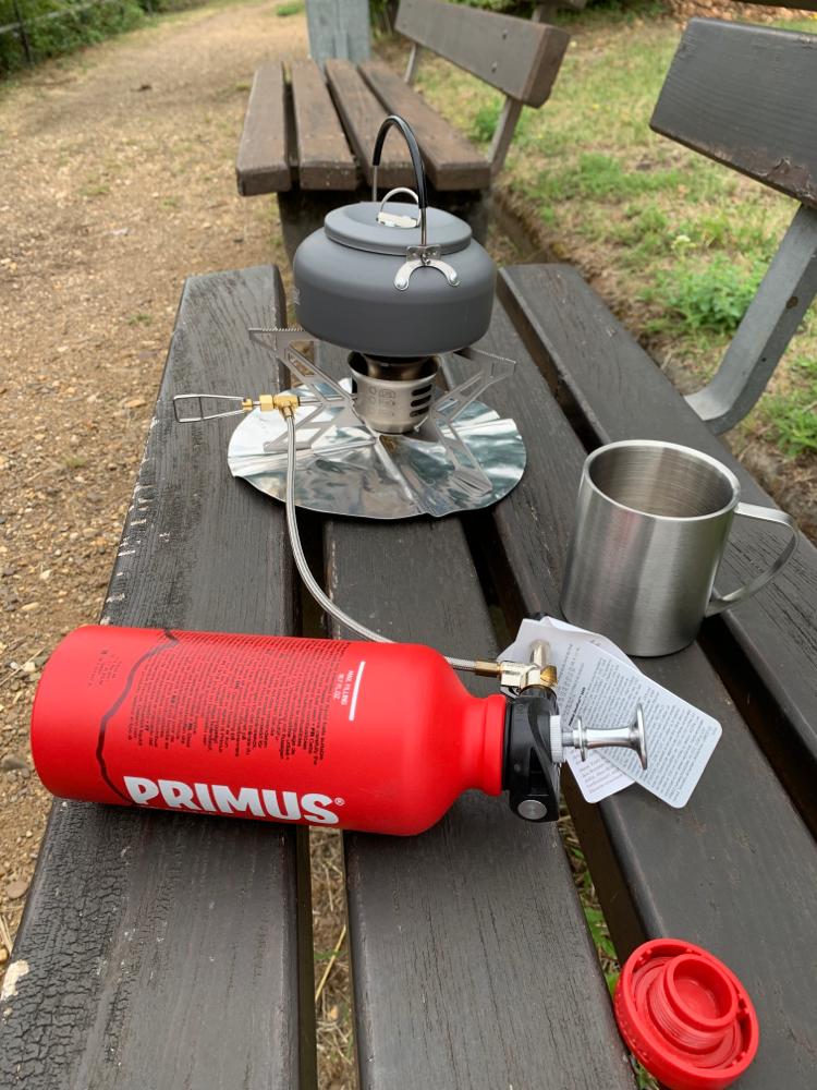 Vorbereitung für den Nachmittagskaffee