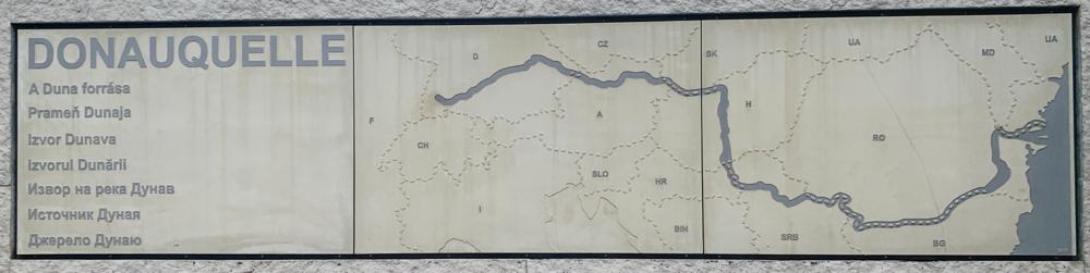 Touridee für ein anderes Mal: Donau von der Quelle zur Mündung :-)