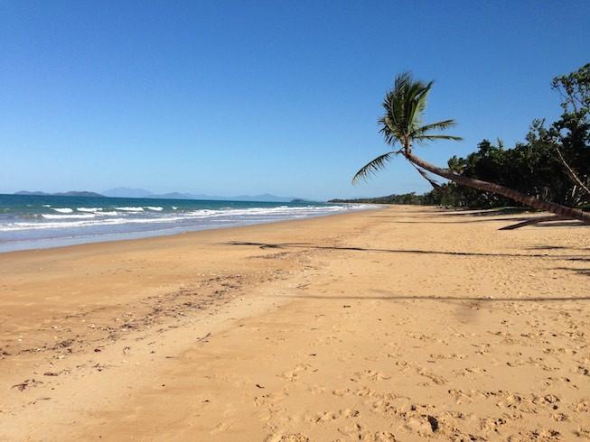 Mission Beach - unser Zuhause für die nächsten zwei Tage.