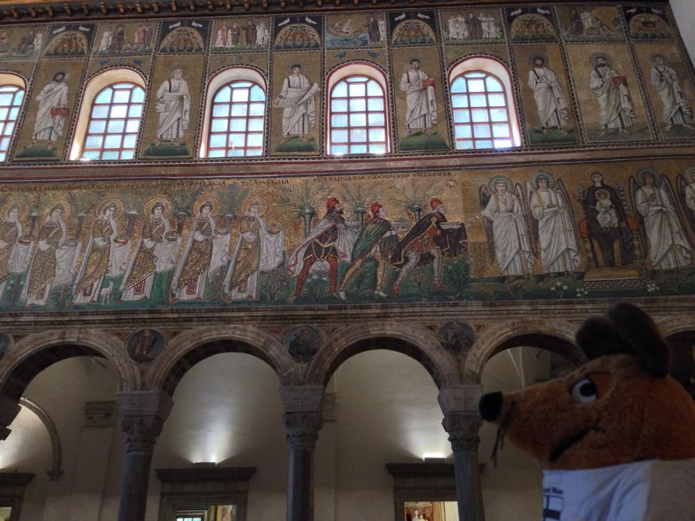 Und auch hier bin ich sehr beeindruckt von den Mosaiken in der Basilica S. Apollinare Nuovo