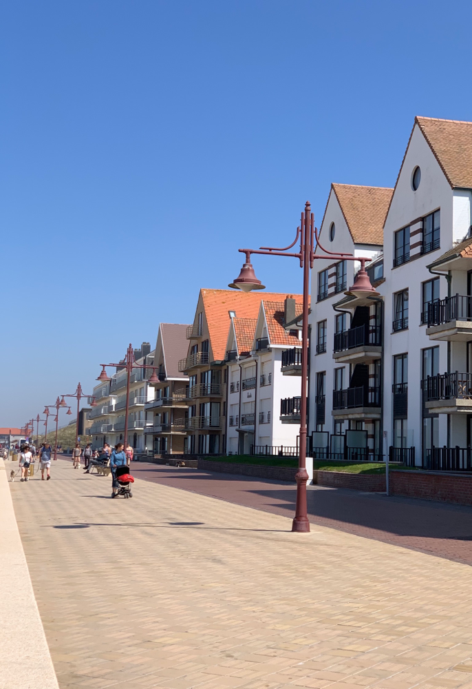 Strandpromenade von De Haan