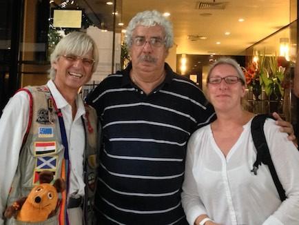 Roberto, der uns sicher durch Rio de Janeiro gefahren hat