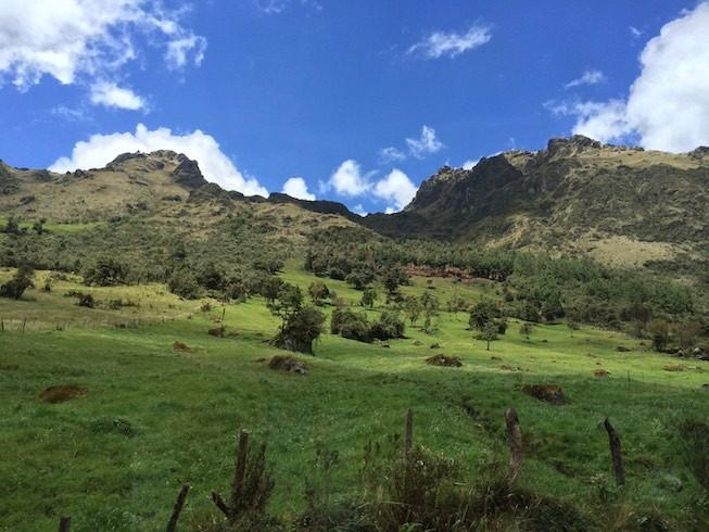 Auf dem Weg in den Parque National de Cajas
