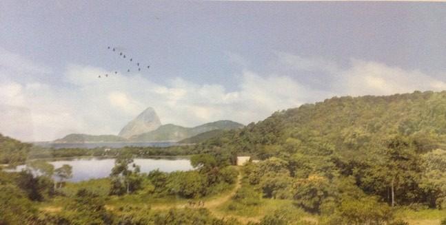 Die Bucht von Rio de Janeiro im Jahr 1608