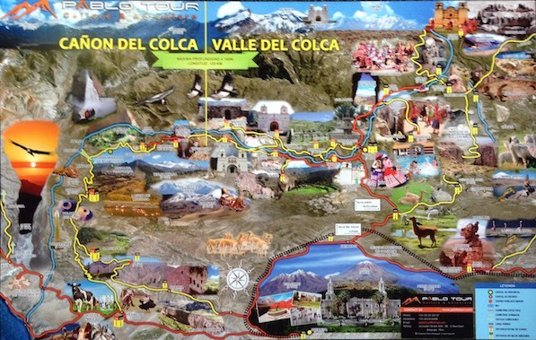 Unser Tour-Plan für den Canon de Colca