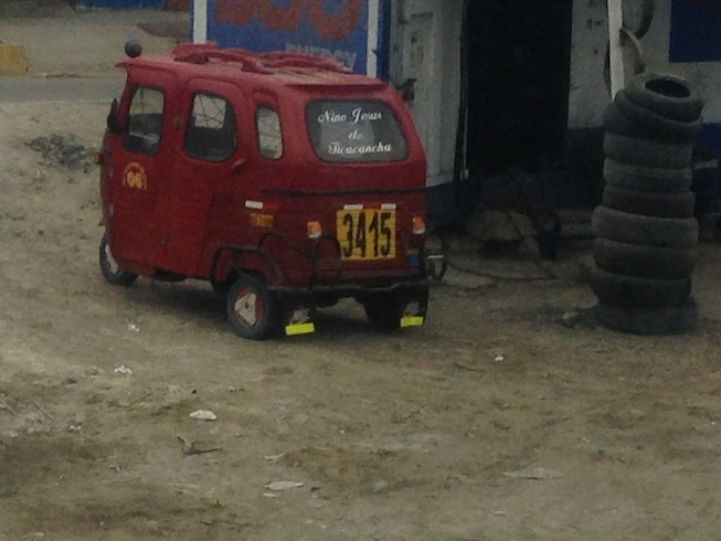 TUK-TUK à la Peru