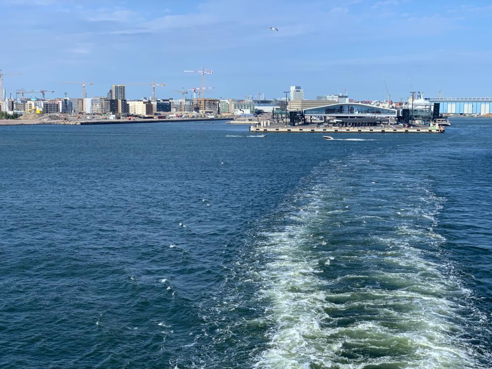 Ein letzter Blick auf Helsinki