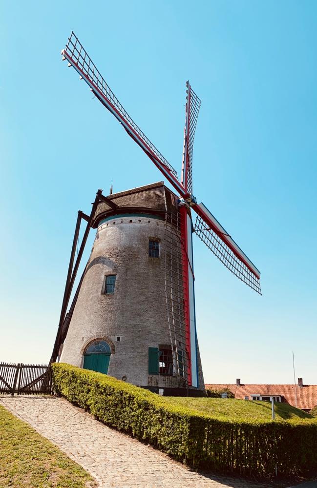 Unsere erste und für heute auch leider letzte Windmühle